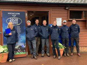 Highclere Team at the Sales